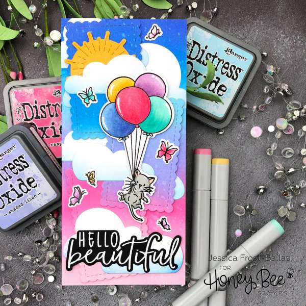 Beautiful Birthday Balloons Card