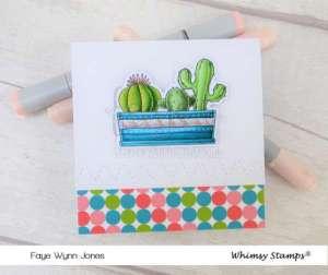 Cactus Card Coloring
