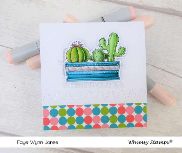 Cactus Card Coloring