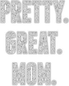 6 Mother's Day Coloring Pages