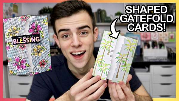 Shaped Gatefold Cards