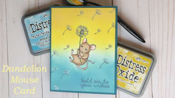 Dandelion Mouse Card