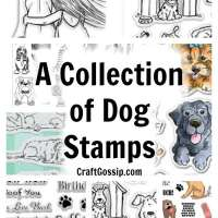 A Collection Of Dog Stamps