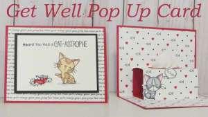 Get Well Pop Up Card