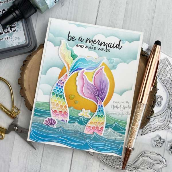 Mermaid Tails Card