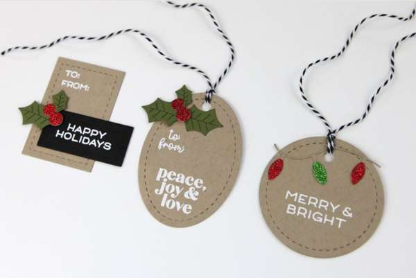 Christmas in July Simple Tags and Card