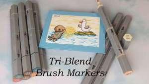 Spectrum Noir Tri-Blend Brush Marker Review