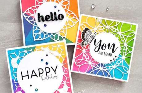 Colorful Geometric Cards
