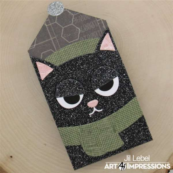Kitty Cat Gift Card Holder