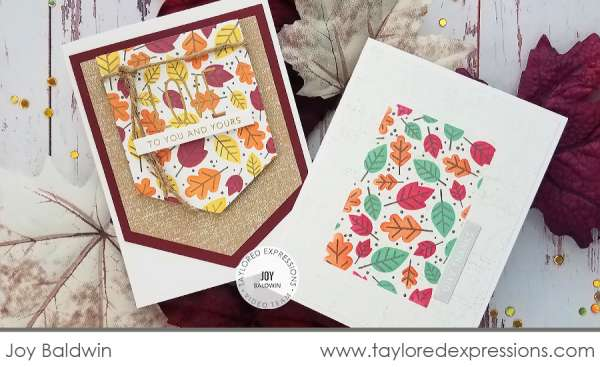 Stamp & Stencils Combo for Fall Cards