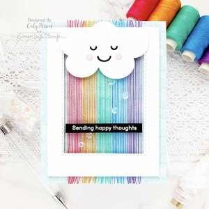 Threaded Rainbow Card