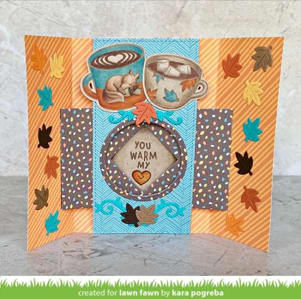Autumn Shutter Card