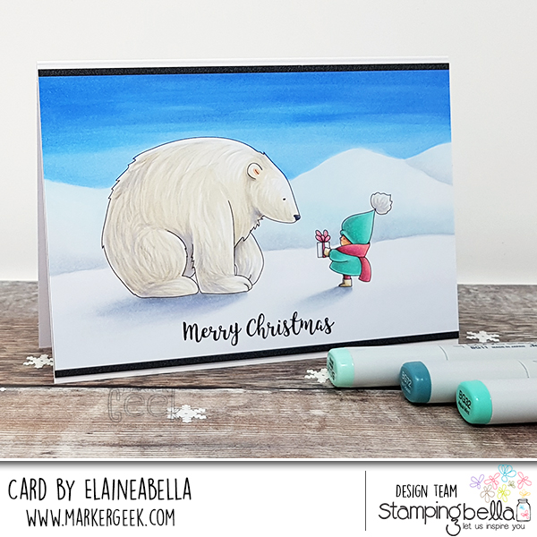 A Girl and Her Polar Bear Cards