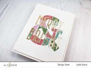 Large Sentiment Christmas Card