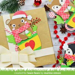 Coffee Cup Animals Gift Tags