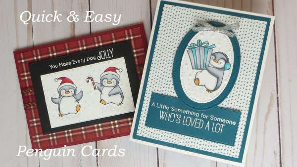 Quick and Easy Penguin Cards