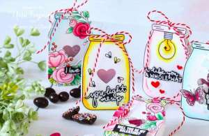 Jar Shaped Treat Bags