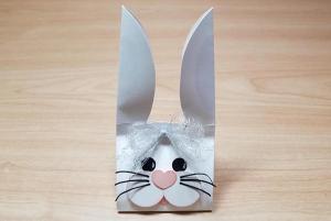 Easter Bunny Candy Carton
