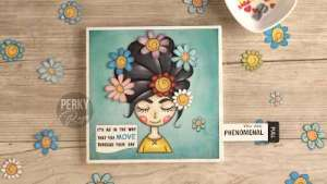 Interactive Flower Girl with Printables
