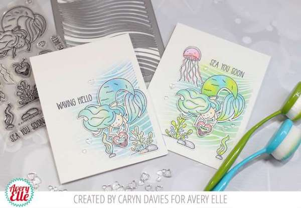 Underwater Mermaid Cards