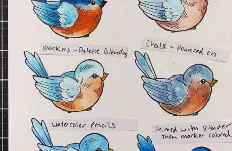 How to use a Blender Pen with Stamps