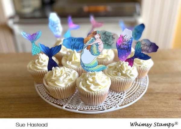 Mermaid Cupcake Toppers