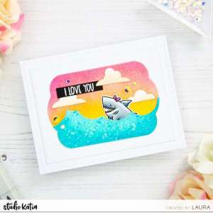 Girl Shark Card Tutorial