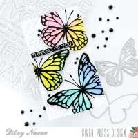 Mini Slimline Butterfly Card Tutorial