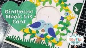 Interactive Birdhouse Card