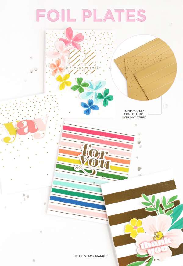 How to Foil Card Backgrounds
