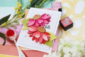 Dimensional Flower Cards