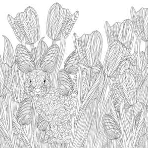 6 Free Beauty and Nature Coloring Pages