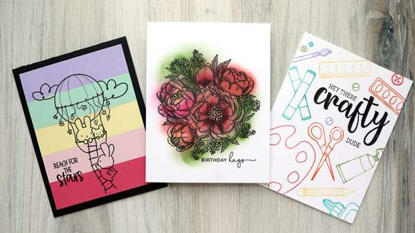 3 Ways to Not Color in Stamps