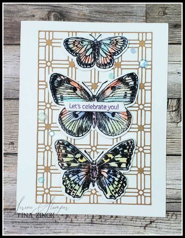 Coloring Stamps with Pastel Chalks