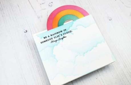 Turning Rainbow Card