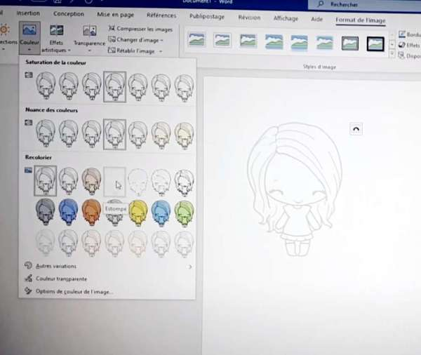 Use a Digital Stamp for No Line Coloring