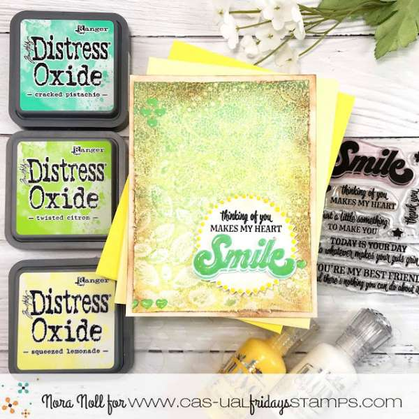 Create a Card with Pattern and Texture