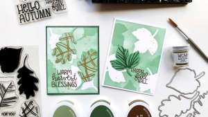 Fall Leaf Cards with Depth and Dimension