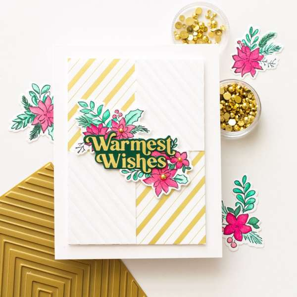 Embossing with Foiling Plates
