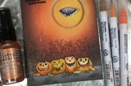 Halloween Spinner Card