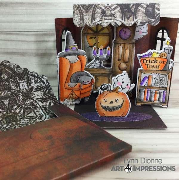 Halloween Matchbook Card