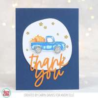 Holiday Truck Fall and Christmas Cards