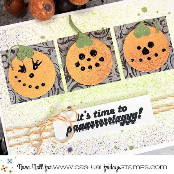 Halloween Pumpkin Card without Halloween Products