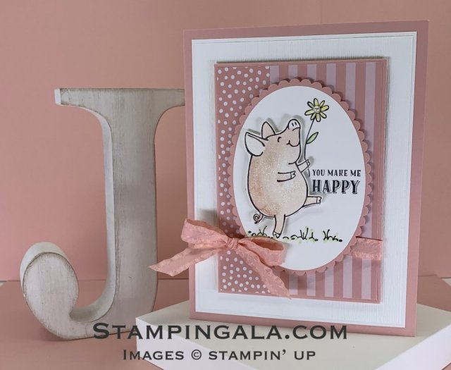 This little Piggy stamp set, thinking of you, Stampin' Up, Stampingala.com,