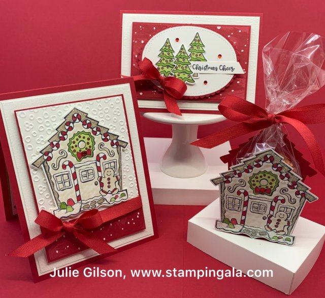 Christmas cards, treat holder, Yummy Christmas stamp set, Stampingala.com, #Christmas Cards, #treat holders, #stampin' up, #paper crafts