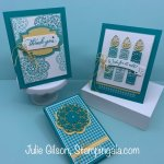 Place a minimum $35 online order between Wednesday, April 1, 2020 and Saturday, April 4, 2020, and I will send you all three make & takes for FREE. Please use Host Code 9FN74ZNU . Join my team here: http://www.stampinup.net/esuite/home/juliegilson/jointhefun Subscribe to my YouTube Channel here: https://www.youtube.com/channel/UCXtqgi3Dun8y0RofoxBA7hQ?view_as=subscriber Subscribe to my blog here: https://www.stampingala.com Follow me on Pinterest here: https://www.pinterest.com/stampingala/