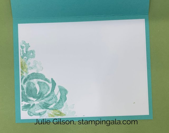 Simple greeting card created with the Beautiful Friendship stamp set for Simple Sunday.  #Stampin' Up, #Stampin Gala, #Birthday, #Thinking of You.