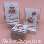 Christmas Cards & Treat Holder created with Stampin