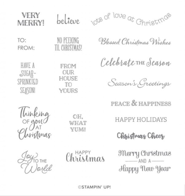 Christmas Card created with Stampin' Up''s Snow Globe Scenes Dies.  #Stampin' Up, #Stampin' Gala, #Julie Gilson, #Christmas Cards, #Handmade Cards, #DIY