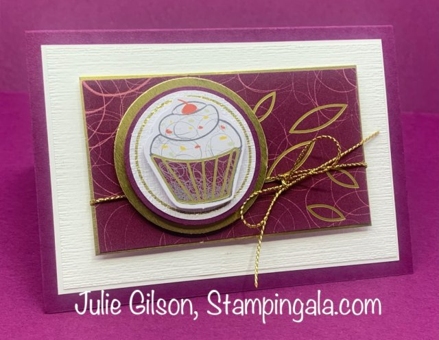 Alternate projects created with Stampin' Up's! December 2020 Beary Comforting Paper Pumpkin Kit. #Stampin' Up!, #Stampin' Gala, #Birthday, #Handmade Card, #3D
